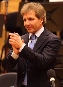 Thierry Fischer, principal conductor of the BBC National Orchestra of Wales