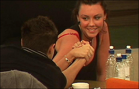 Michelle Heaton and Ben Adams