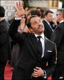 Jeremy Piven at the Golden Globes