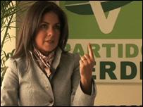 Gloria Lavara, Partido Verde Ecologista