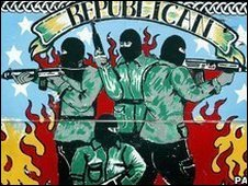Republican mural in Belfast
