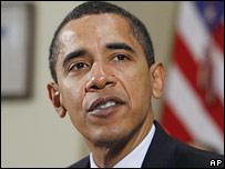 Президент США Барак Обама (фото 23 января)