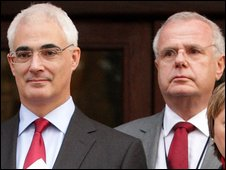 Alistair Darling and Lord Myners