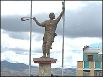 Estatura de Túpac Katari