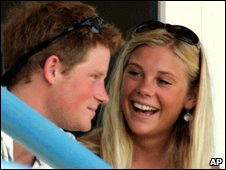 Prince Harry and Chelsy Davy in 2007