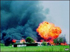 Fire at Waco, 20 April 1993