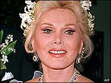 Zsa Zsa Gabor in 1986