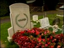 Mike Hawthorn's grave