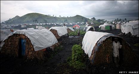 Mugunga camp (12 November 2008)