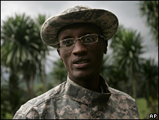 Gen Laurent Nkunda (6 November 2008)