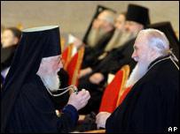 Делегаты Архиерейского собора
