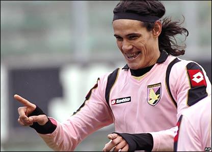 """Palermo""""s Edison Cavani"""