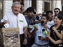 El opositor Rubén Costas