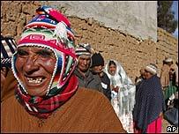 Votantes en Bolivia
