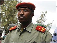 General Bosco Ntaganda in Rutshuru, DR Congo