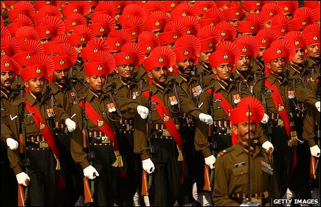 India's Republic Day parade in Delhi