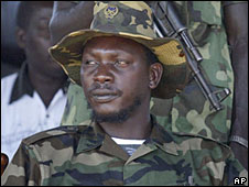 Thomas Lubanga in 2003