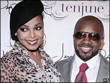 Janet Jackson and record producer Jermaine Dupri