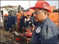 Trabajador de la industria petrolera