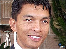 Opposition leader Andry Rajoelina
