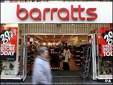 Barratts store in Oxford Street, London