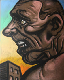 Peter Howson painting