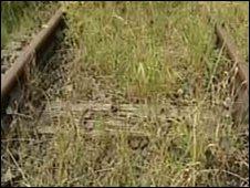 Disused rails