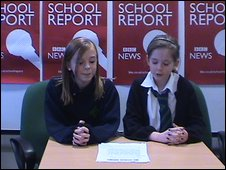 School Reporters at Hamilton Grammar School