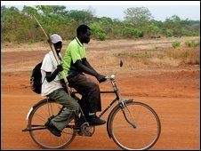 Community militia on patrol in south Sudan