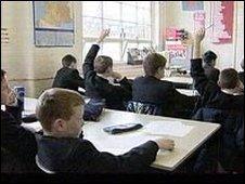 Classroom scene (generic)