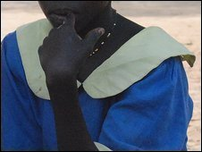 Sudanese girl abducted by LRA rebels