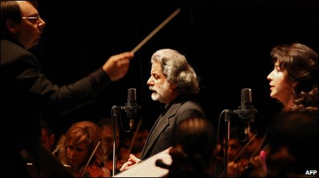 Marcel Khalife performs in concert for Damascus