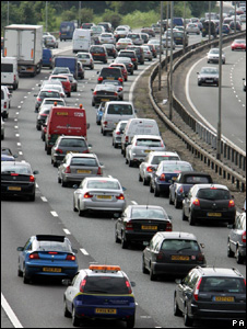 Traffic congestion (Image: PA)