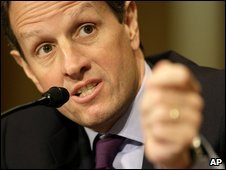 Timothy Geithner, file pic from 21 January 2009