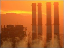 Generating station in Sun Valley, California