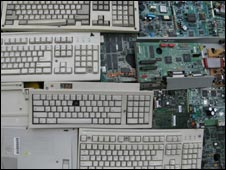 shots of computer keyboards