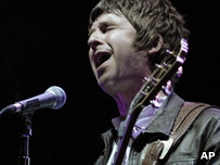 Noel Gallagher from Oasis