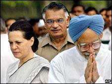 Sonia Ghandi & Manmohan Singh