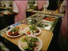 Hospital food preparation