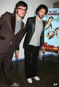 Jemaine Clement and Bret McKenzie from Flight of the Conchords
