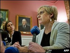 Iceland Foreign Minister Ingibjorg Solrun Gisladottir
