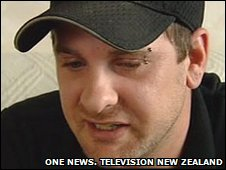 Chris Ogle. Source: Television New Zeland