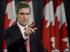 Michael Ignatieff in November as he campaigned for the LIberal leadership