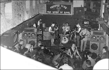 The club was also known as the home of rock