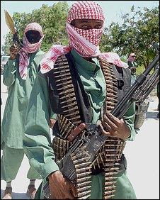 Al-Shabab Islamist insurgents