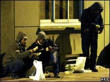 Illegal immigrants in Calais