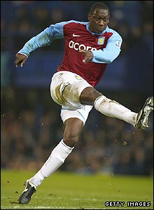Emile Heskey gives Villa the lead