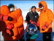 south pole race
