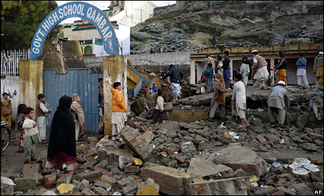 School destroyed in Swat