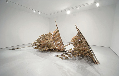 The Tower of Infinite Problems, by Diana Al-Hadid.  Courtesy of the Saatchi Gallery, London. © Diana Al-Hadid, 2008